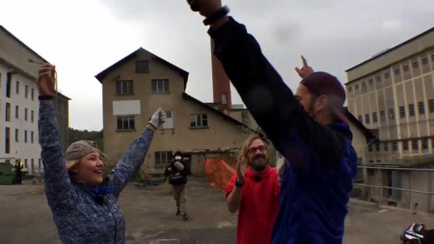 Video ««Ready, Steady, Golf!»: Team Anic erreicht Checkpoint» abspielen