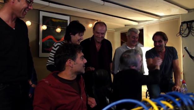 Video ««Ziit rollt» – die Radio SRF 1-Band im Studio» abspielen