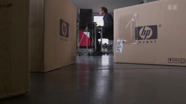 Video «Absurder Kundenservice: HP liefert defekte Ersatzgeräte» abspielen