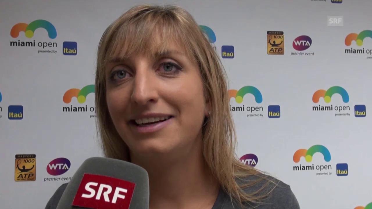 Timea Bacsinszky über ihre Freundschaft mit Lara Gut