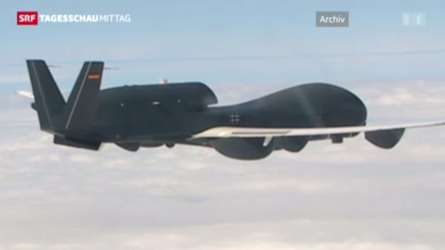 Video «Drohnen-Debakel: De Maizière nimmt Stellung» abspielen