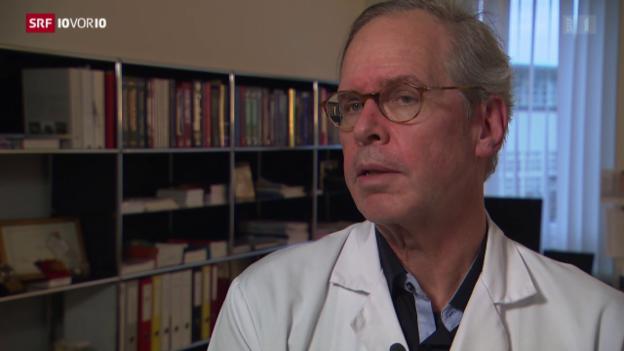 Video «Herzchirurg Carrel kritisiert Swisstransplant» abspielen