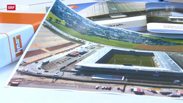 Video «Stadionstreit in Thun: Baufirma lenkt ein» abspielen