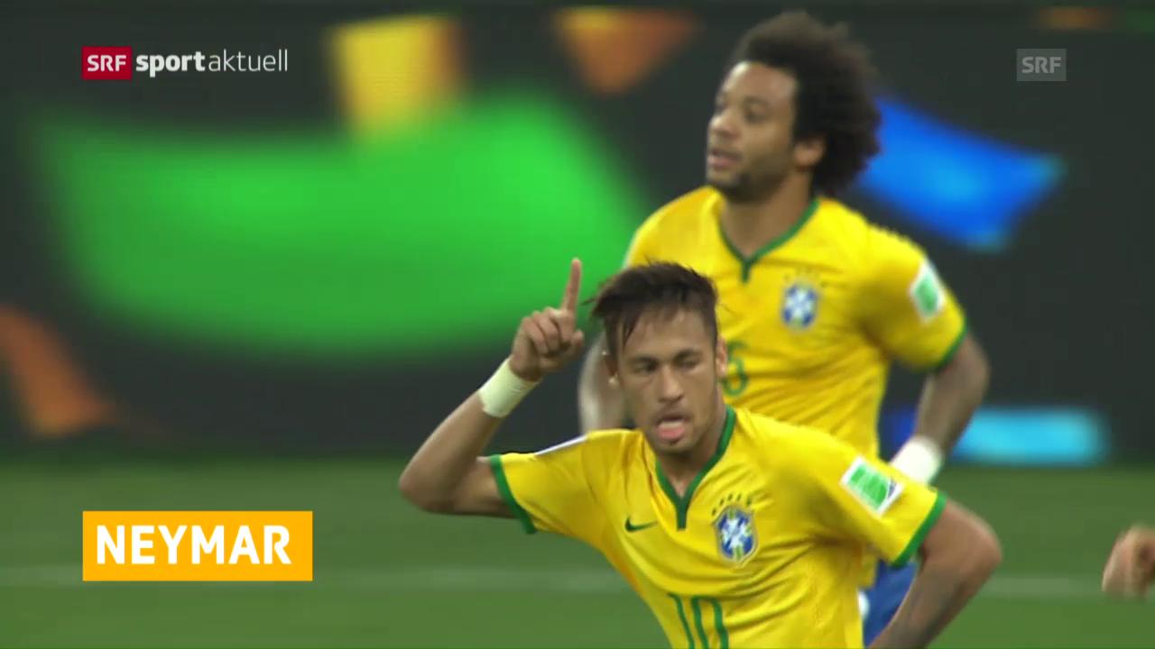 Neymar spielt in Rio