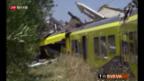 Video «Mindestens 23 Tote bei Zugunglück in Süditalien» abspielen