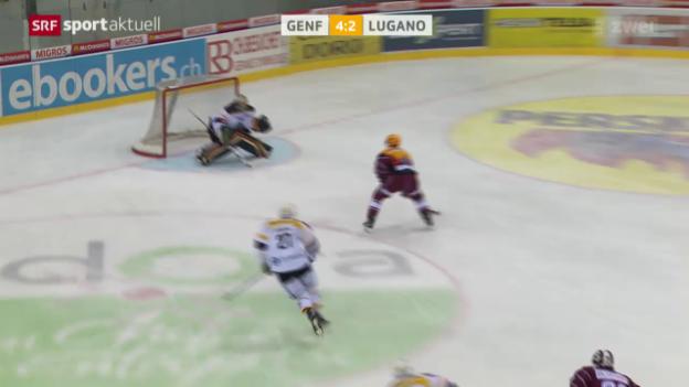 Video «Eishockey: Genf-Lugano» abspielen