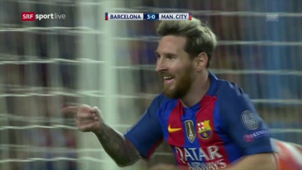 Video «Messi schiesst Manchester City ab» abspielen