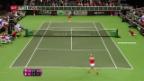 Video «Die Schweizerinnen verlieren Viertelfinal gegen Tschechien» abspielen