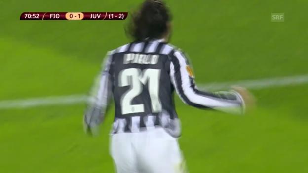 Video «Europa League: Fiorentina - Juventus («sportlive»)» abspielen