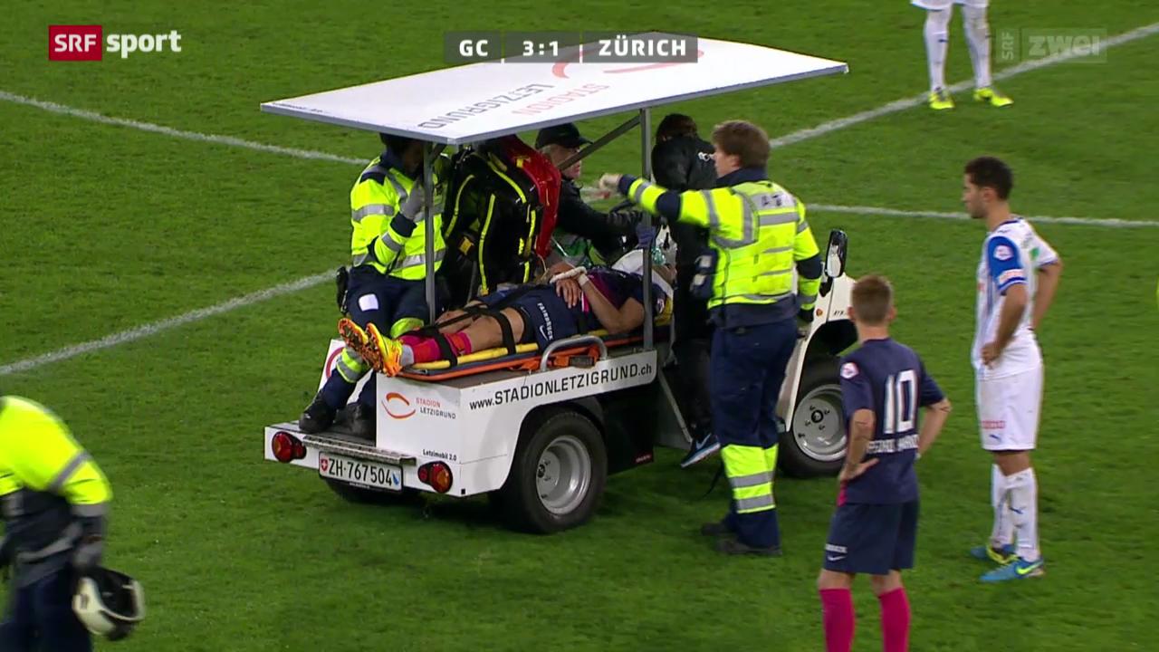 Die Verletzung von Teixeira