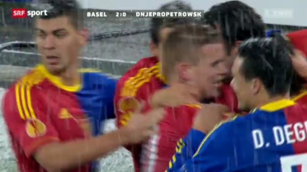 Video «Fussball: Basel - Dnjepr» abspielen