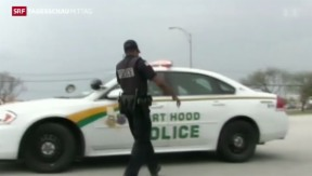 Video «Vier Soldaten sterben bei Amoklauf in Texas» abspielen