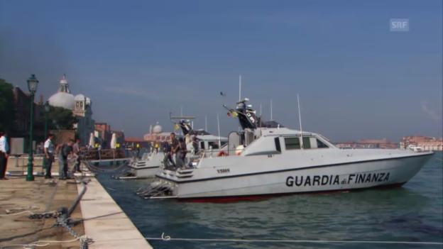 Video «Venedig: Auf Patrouille mit der italienischen Finanzpolizei» abspielen