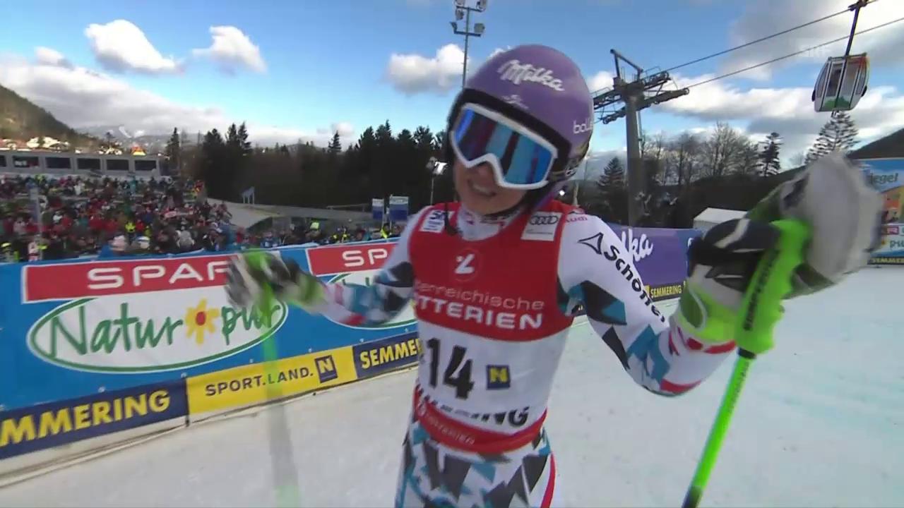 Anna Veiths erster Weltcup-Auftritt nach 646 Tagen