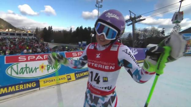 Video «Anna Veiths erster Weltcup-Auftritt nach 646 Tagen» abspielen