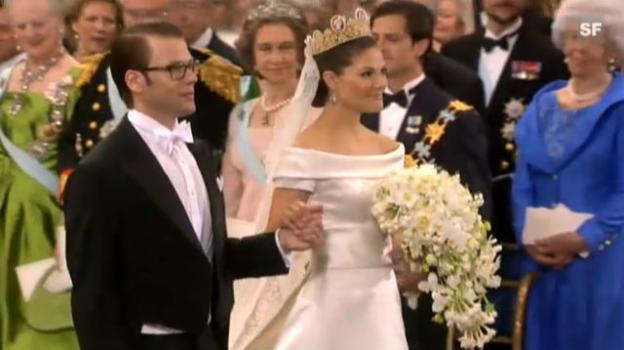 Video «Ankunft von Prinzessin Victoria» abspielen