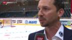 Video «Eishockey: Interview mit Neo-SCB-Trainer Lars Leuenberger» abspielen