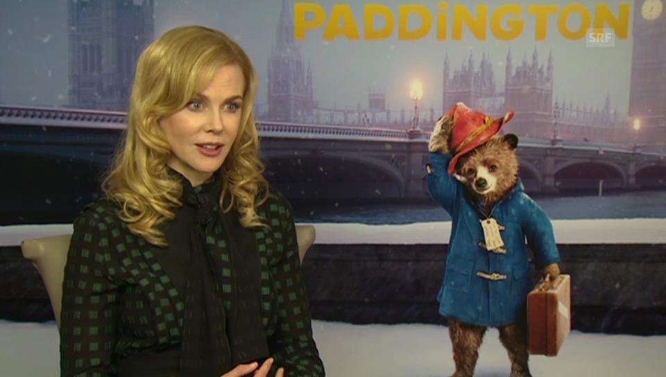 «Paddington»-Verfilmung mit Nicole Kidman