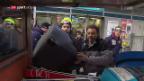 Video «Wengen startet in die traditionelle Weltcup-Woche» abspielen