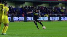 Video «Fussball: Europa League, Villarreal - Mönchengladbach, das Tor von Granit Xhaka» abspielen