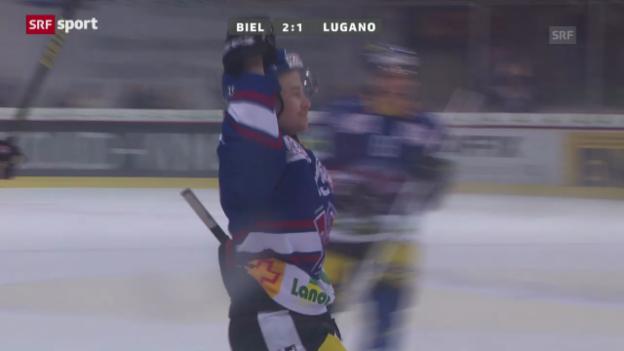 Video «Biel-Lugano («sportaktuell»)» abspielen