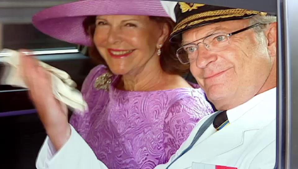 Carl Gustaf und Silvia