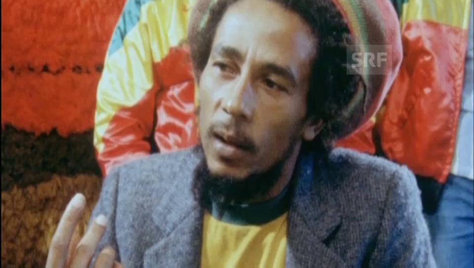 Bob Marley in Zürich: Seltene Aufnahmen aus dem SRF-Archiv