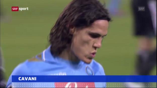 Video «Fussball: Edinson Cavani zum PSG («sportaktuell»)» abspielen