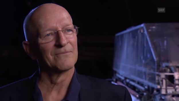 Video «Nicollier: «Es war eine spannende Zeit im All»» abspielen