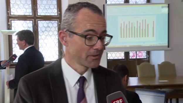 Video «RTS-Korrespondent Heuberger: «Grosse Erleichterung in der Westschweiz»» abspielen