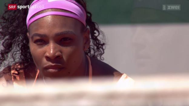 Video «Tennis: Final French Open Frauen» abspielen