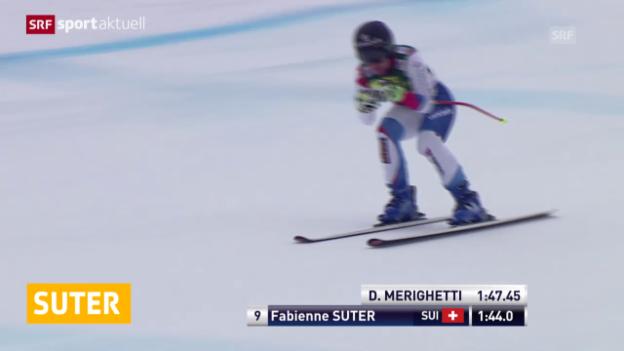 Video «Ski: Abfahrt in Bad Kleinkirchheim, 2. Training» abspielen