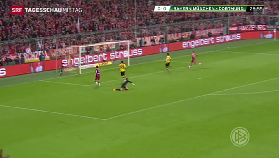 Fussball: Bayern München draussen