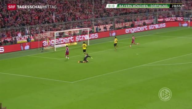 Video «Fussball: Bayern München draussen» abspielen
