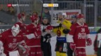Video «Eishockey: National League, Lausanne - Bern» abspielen