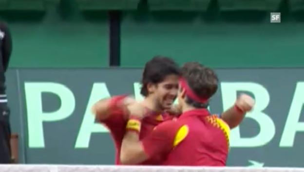 Video «Davis Cup 2009: Spanien-Tschechien» abspielen