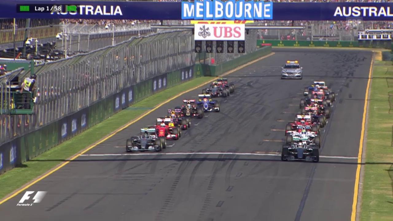 Formel 1: GP Melbourne, Start