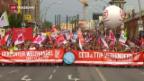 Video «Demonstration gegen Handelsabkommen» abspielen