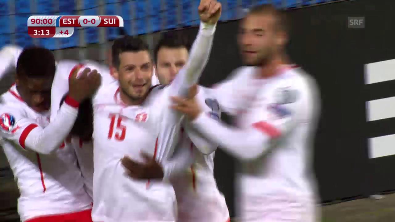 Fussball: EURO-Quali, Estland - Schweiz