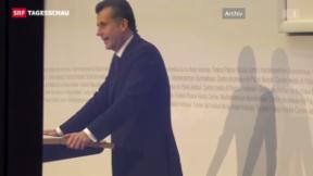Video «Fall Hildebrand: Blochers Unterlagen sollen entsiegelt werden» abspielen