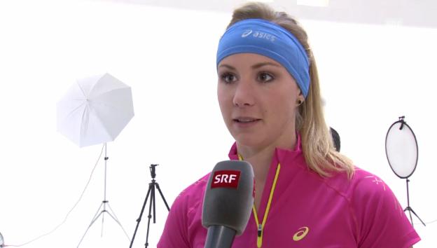 Video «Ariella Kaeslin: «Ich war hyperaktiv»» abspielen