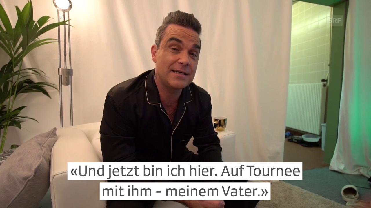 Robbie Williams: Auf Tour mit seinem Vater