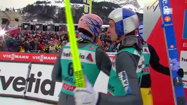 Skispringen: Die Entscheidung in Engelberg
