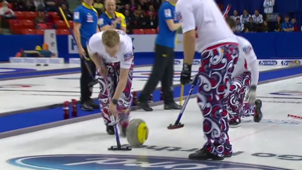 Video «Curling: Männer-WM in Halifax, Final Schweden - Norwegen» abspielen