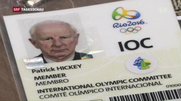 Video «Festnahme von IOC-Mitglied in Rio» abspielen