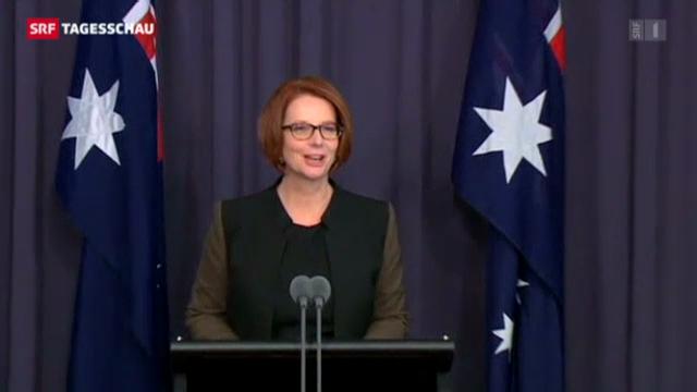Australiens Regierungschefin von eigener Partei fallen gelassen