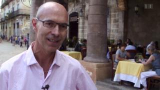 Video «Reiseunternehmer Reto Rüfenacht hofft auf Durchbruch auf Kuba » abspielen