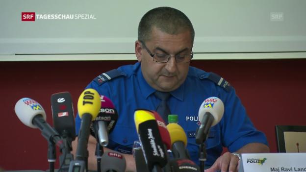 Video «Einsatzleiter: «Tat richtete sich vor allem gegen Krankenkasse»» abspielen