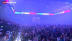 Video «Grosse Meisterfeier der ZSC Lions» abspielen