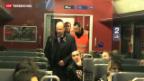 Video «Mehr Gewalt in Zügen» abspielen
